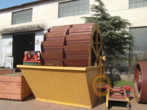 wheel-type-sand-washing-machine