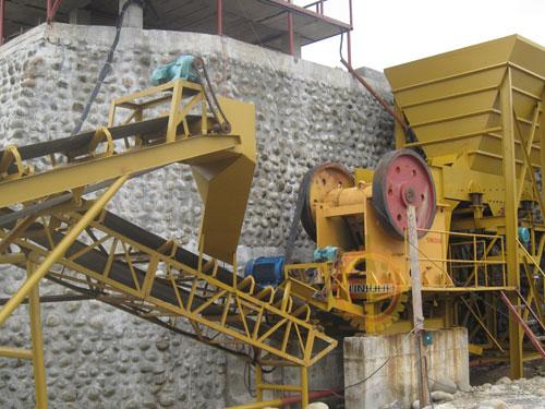 stone crusher plant layout pdf